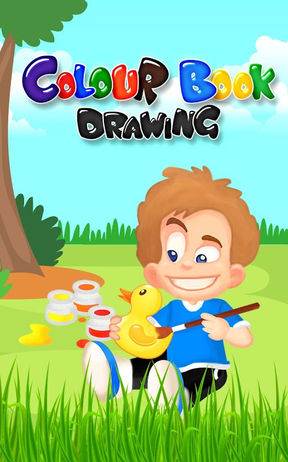 colour book drawing for kids screenshot - Colour Drawing For Children