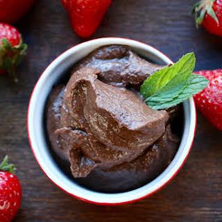 Black Bean Chocolat Pudding.