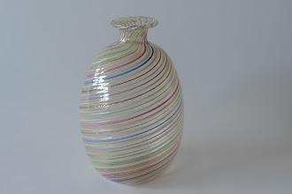 Photo: Mezza filigrana cabinet vase.