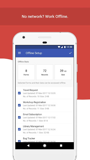 Mobile Forms App - Zoho Forms 2.4.0 screenshots 2