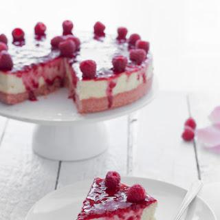 Raspberry and Rosewater Cheesecake