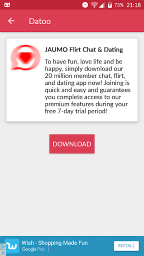 DATOO: Best Dating Apps for Singles. Chat & Flirt! 1.3.0 screenshots 6
