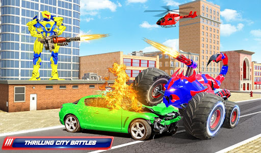 Scorpion Robot Monster Truck Transform Robot Games 9 screenshots 15