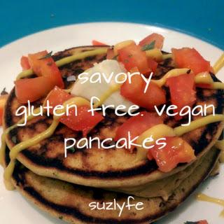 Gluten Free Vegan Savory Pancakes