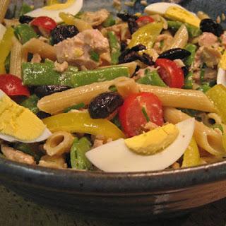 Pasta Salad,Niçoise Style