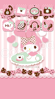 Screenshot of icon wallpaper dressup-CocoPPa
