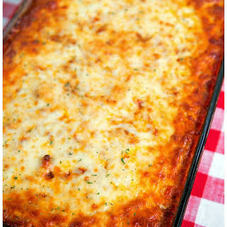 The Ultimate Baked Spaghetti.