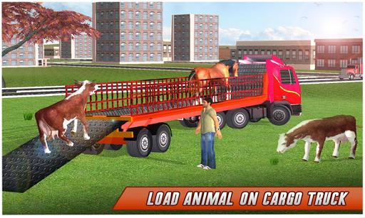 Farm Animal Transport Truck 2.5 screenshots 1