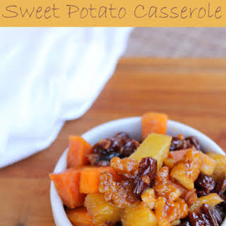 Bacon Sweet Potato Casserole with Pineapple.