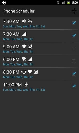 Phone Scheduler