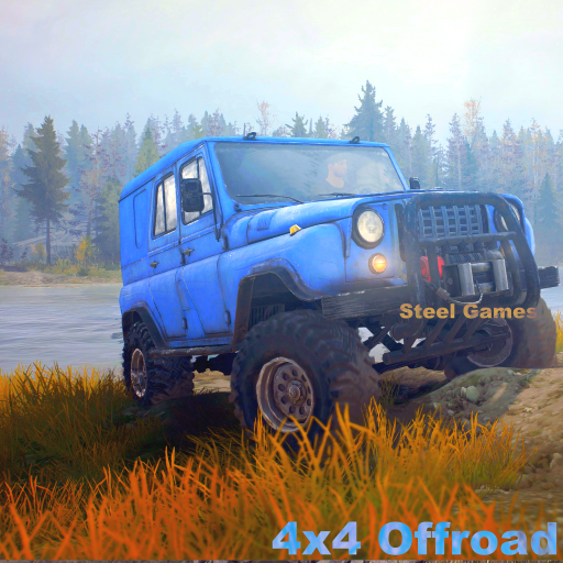 Off-Road 4x4 SUV Hill Climb