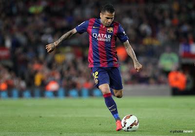 De onderhandelingen tussen Dani Alves (Barcelona) en Juventus gaan de goeie kant op