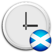 Scotland Clock & RSS Widget