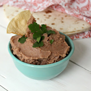 Crock Pot Refried Beans.