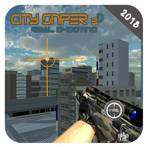 City Sniper Real Shooting 3D