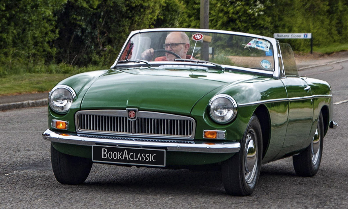 MG B Roadster Hire Olney