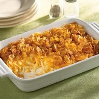 Simply Potatoes® Cheesy Hash Browns.