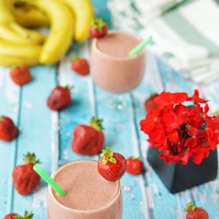 Strawberry Banana Smoothie.