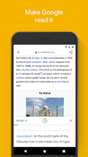 Google Go: A lighter, faster way to search Screenshot