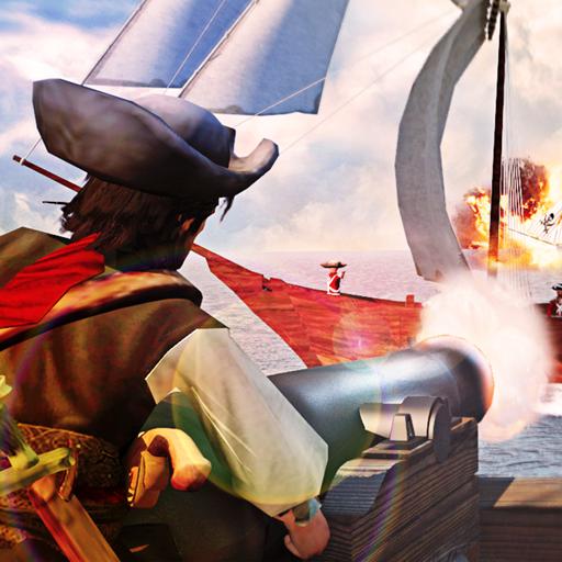 Caribbean Navy Pirates Shoot War
