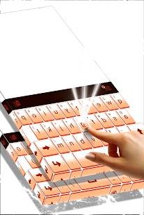 Téma letních dnů pro Keyboard - náhled