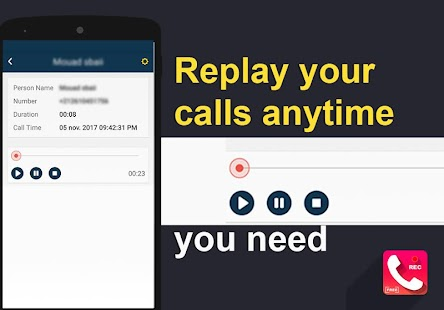call recorder - automatic recording - náhled
