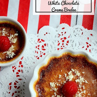 Chai Masala Spiced White Chocolate Crème Brulee