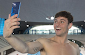 Tom Daley's first diving selfie