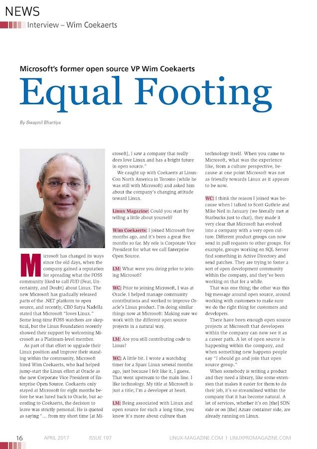 Linux Pro Magazine- screenshot