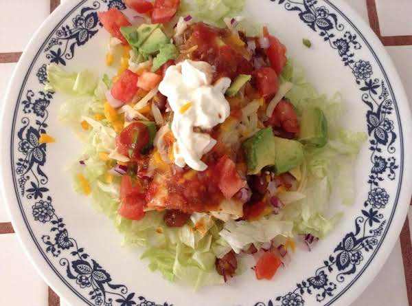 Chili Burrito Salad