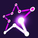 Dot liner - polygon drawing icon