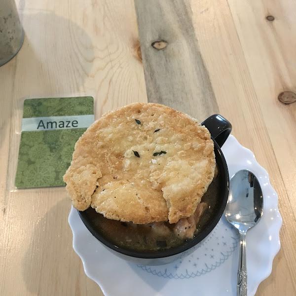 Chicken pot pie. November 2017