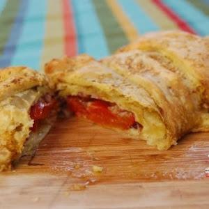 Tomato and Mozzarella Filled Puff Pastry