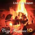 Cozy Fireplace HD LWP icon