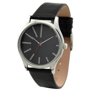 點點時間手錶黑面