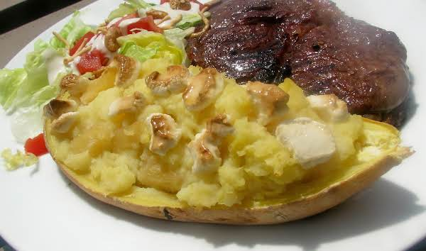 Pineapple Filled Sweet Potatoes Recipe