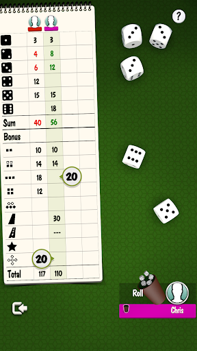 Yatzy Offline and Online - free dice game 3.2.25 screenshots 5