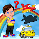 Kiddo Toddler Puzzle: Educational Games 2-4 yr old icon