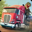 Динозавр зоопарк Транспорт 2 icon