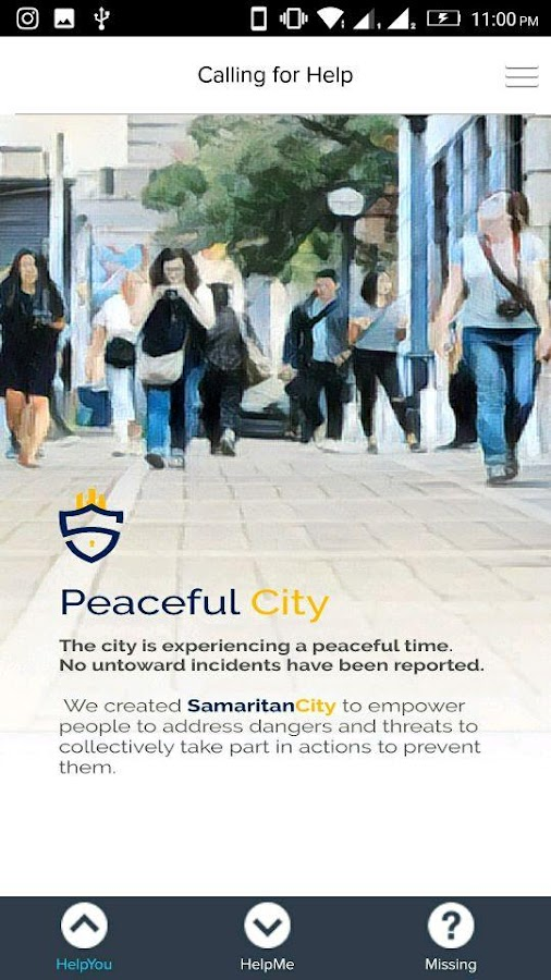SamaritanCityLite- screenshot