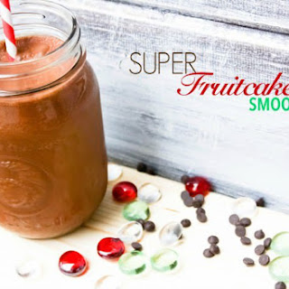 Dairy Free SUPER Fruitcake Smoothie {Paleo}