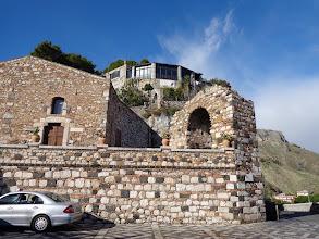 Photo: Looking up towards Castello remains, Castelmole
