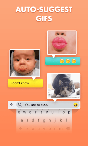 Smiley Emoji Keyboard 2018 - Cute Emoticons 1.2.0 Screenshots 3