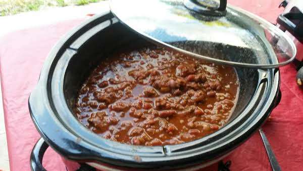 Hearty Chili Made With Venison And Mole!
