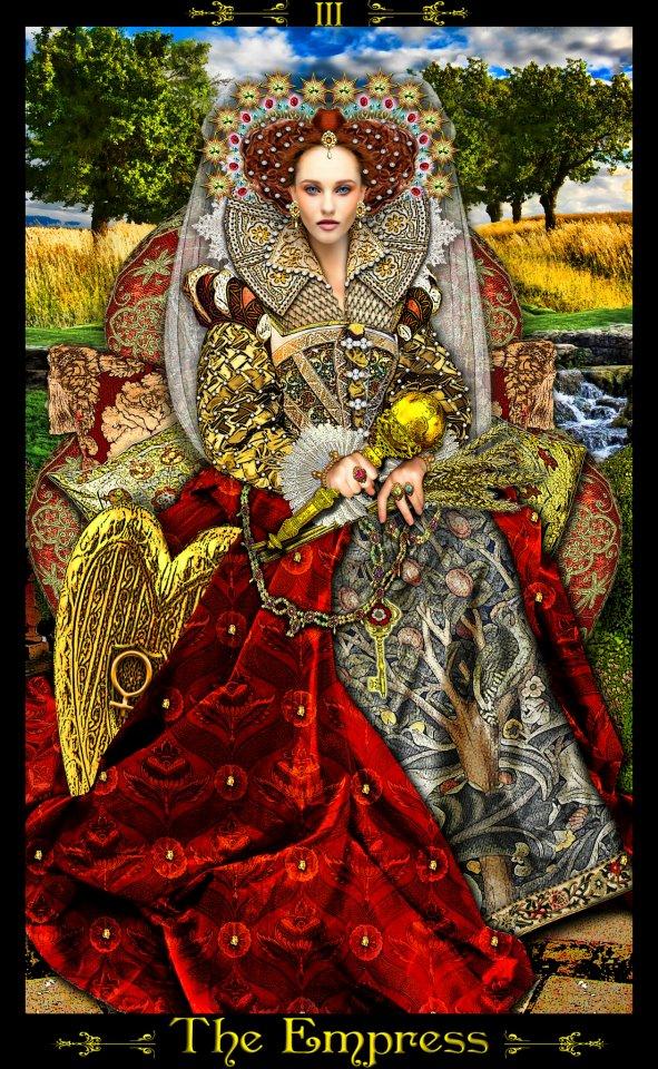 Resultado de imagem para tarot illuminati imperatriz