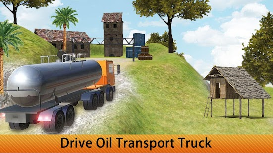 Offroad Transport Oil Truck - náhled