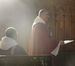 Photo: ... přednáška o historických souvislostech přijetí sv. Dominika toulouským biskupem Fulkem.