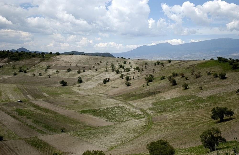 A cratera vulcânica de Xico