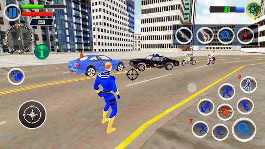 Flying Hero Crime Simulator Mod Apk [Unlimited Money] 7