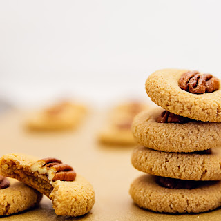 Old Fashioned Maple Pecan Cookies.